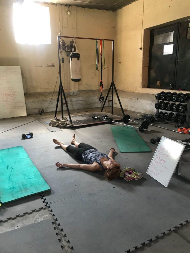 Vila efter gympass