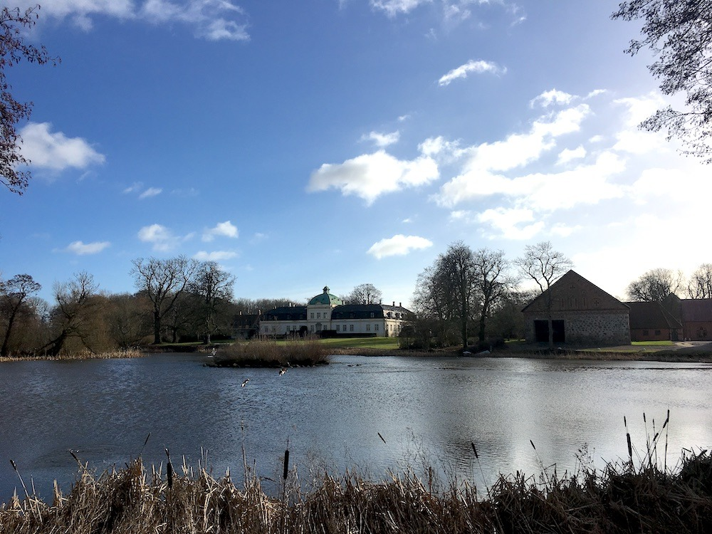 Områdesbild på Jordberga gård